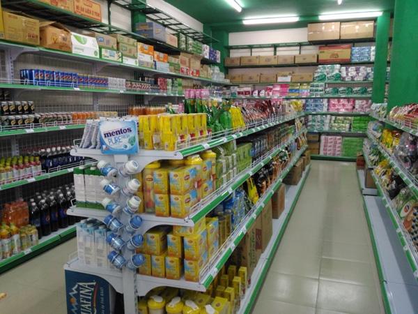 Sản xuất và phân phối giá kệ để đồ siêu thị trên toàn quốc
