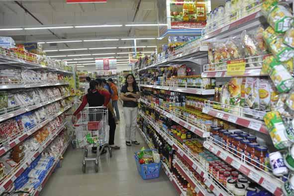 Thiết bị siêu thị hiện đại tạo nên phong cách mua sắm tiện dụng