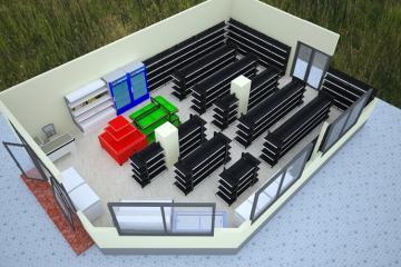 Tiêu chuẩn thiết kế siêu thị mini và trung tâm thương mại