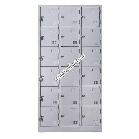 Sử dụng tủ locker cho các trường học