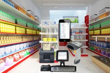 Tư vấn thiết kế siêu thị mini 200m2