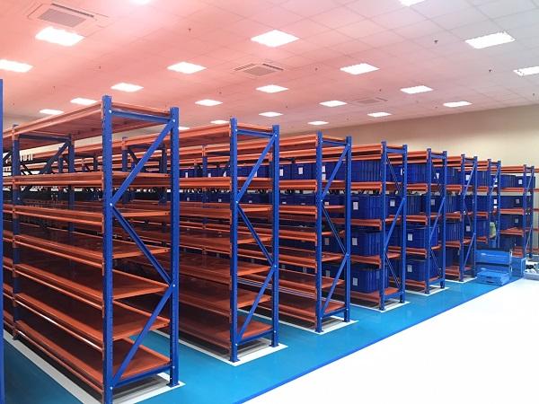 Kệ trung tải lắp ráp theo yêu cầu của khách hàng tại Vinatech