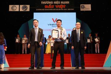 VINATECH GROUP VINH DỰ ĐẠT DANH HIỆU TOP 10 THƯƠNG HIỆU MẠNH ĐẤT VIỆT 2020