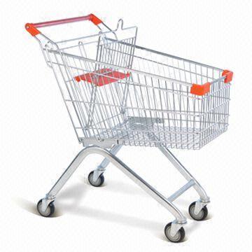 Xe đẩy hàng thiết bị cần thiết cho các siêu thị